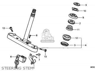 Honda VT1100C2 SHADOW 2002 (2) CANADA parts lists and