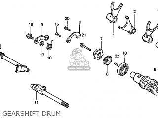 Honda Vt1100c2 Shadow Ace 1998 (w) Usa parts list