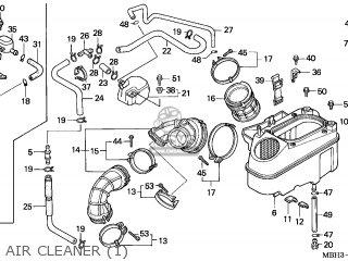 Honda VT1100C3 SHADOW AERO 1998 (W) GERMANY parts lists