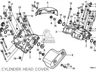Honda Vt1100c3 Shadow Aero 1998 (w) Usa parts list