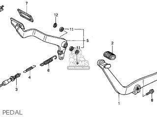 Honda Vt1100c3 Shadow Aero 1999 Usa parts list partsmanual