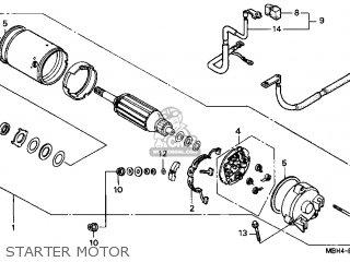 Honda Vt1100c3 Shadow Aero 1999 (x) Usa parts list