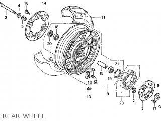 Honda VT1100T SHADOW 1100 ACE TOURER 1998 (W) USA parts