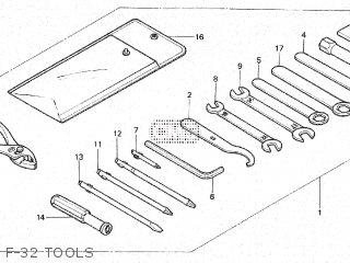 Honda VT500C SHADOW 1983 (D) parts lists and schematics
