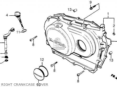 Honda Vt500c Shadow 500 1983 Usa parts list partsmanual