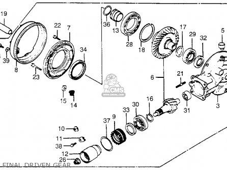 Honda VT500C SHADOW 500 1984 (E) USA CALIFORNIA parts