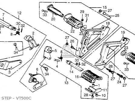 1984 Honda Vt500c Clutch Switch Wiring Diagram. Honda
