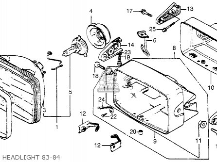 1984 Honda Vt700c Shadow Diagram, 1984, Free Engine Image