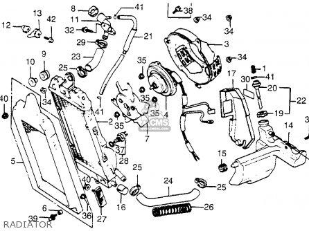 Honda Vt500c Shadow 500 1984 Usa parts list partsmanual
