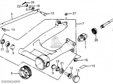 Honda VT500FT ASCOT 1983 (D) USA parts lists and schematics