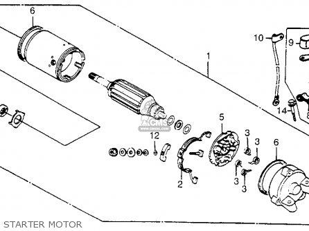 Honda Vt500ft Ascot 1984 Usa parts list partsmanual partsfiche