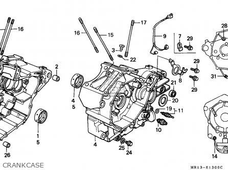 Honda Vt600c Shadow 1988 France / Kph parts list