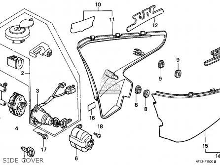 Honda VT600C SHADOW 1988 (J) CANADA / KMH parts lists and