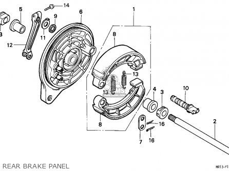 Honda VT600C SHADOW 1988 (J) FRANCE / KPH parts lists and
