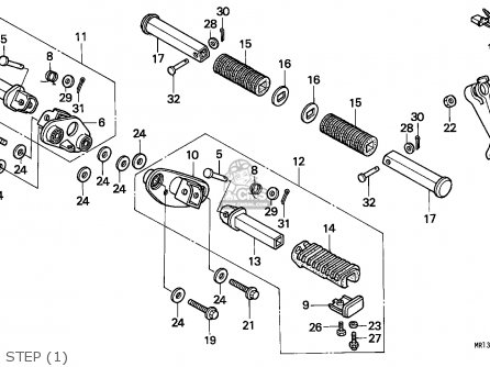 Honda VT600C SHADOW 1988 (J) GERMANY / KPH 27P parts lists