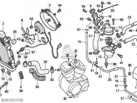 2001 Honda Shadow 750 Carburetor Diagram