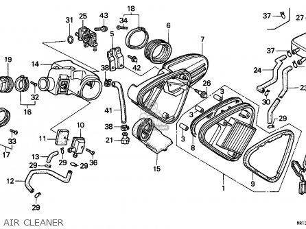 Honda Vt600c Shadow 1992 (n) England / Mkh parts list