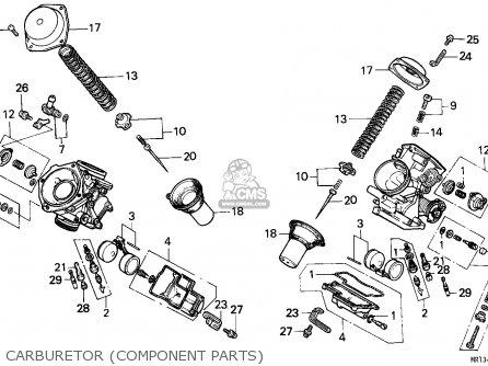 Honda Vt600c Shadow 1993 England / Mkh parts list