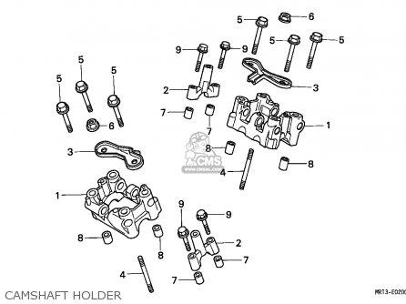Honda Vt600c Shadow 1993 European Direct Sales / Kph parts