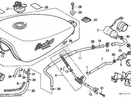 Honda Vt600c Shadow 1993 Finland / Kph parts list