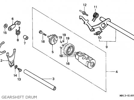 Honda VT600C SHADOW 1993 (P) ENGLAND / MKH parts lists and