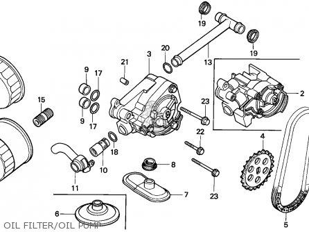 Honda VT600C SHADOW 1993 (P) FINLAND / KPH parts lists and