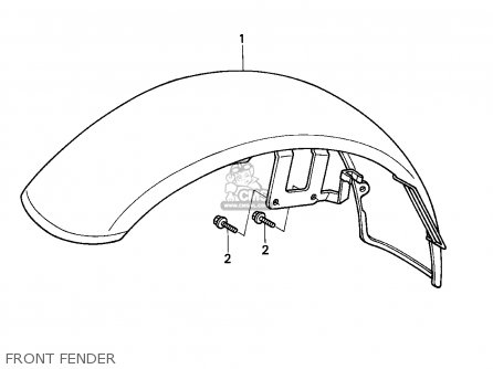 Honda VT600C SHADOW 1994 (R) AUSTRIA / KPH parts lists and