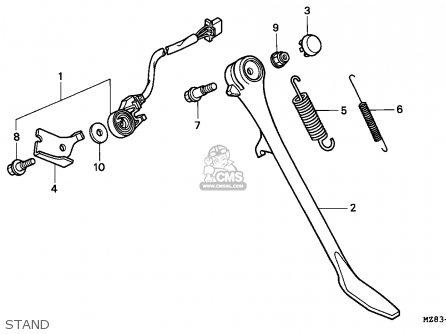 Honda VT600C SHADOW 1994 (R) GERMANY / KPH parts lists and