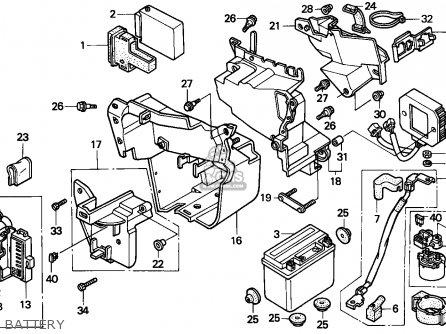 Honda VT600C SHADOW 1994 (R) ITALY / KPH parts lists and
