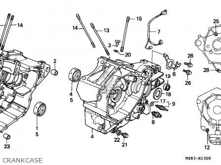 Honda VT600C SHADOW 1995 (S) ITALY / KPH 34P parts lists