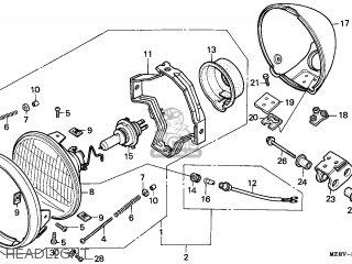 Honda VT600C SHADOW 1997 (V) EUROPEAN DIRECT SALES parts