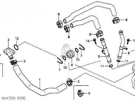 Honda Vt600c Shadow Vlx 1988 (j) Usa California parts list