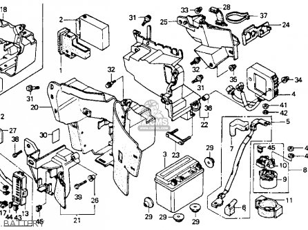 Honda Vt600c Shadow Vlx 1988 Usa parts list partsmanual