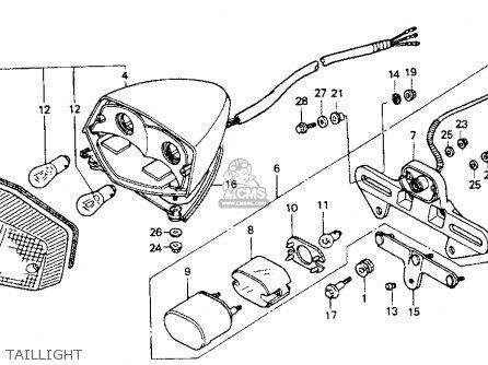 Honda VT600C SHADOW VLX 1989 (K) USA CALIFORNIA parts