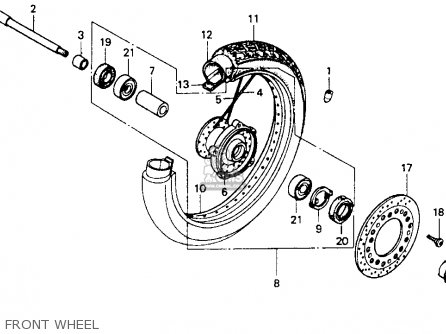 Honda Vt600c Shadow Vlx 1993 (p) Usa California parts list