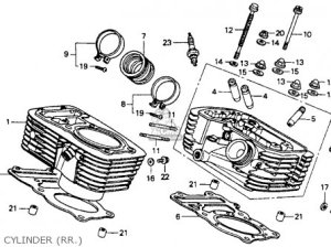 Honda VT600C SHADOW VLX 1994 (R) USA CALIFORNIA parts lists and schematics