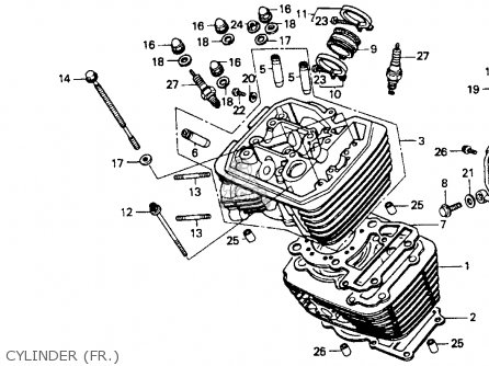 Honda Vt600c Shadow Vlx 1994 Usa Carburetor Components
