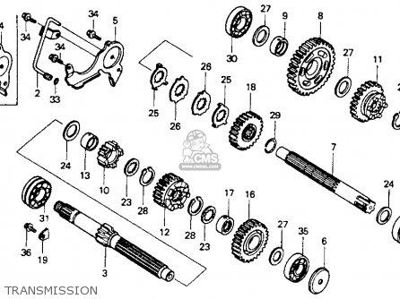 Honda Vt600c Shadow Vlx 1994 (r) Usa parts list