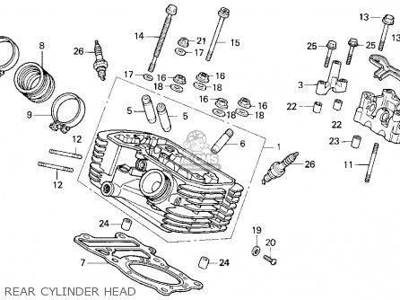 Honda VT600C SHADOW VLX 1995 (S) USA CALIFORNIA parts