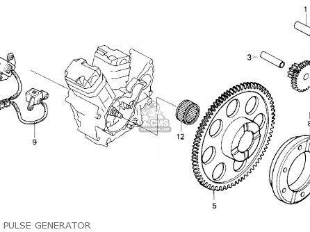 Honda Vt600c Shadow Vlx 1997 Usa Pulse Generator