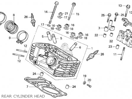 2002 Honda Foreman 450 Carburetor Diagram