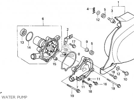 Honda Vt600c Shadow Vlx 1997 (v) Usa California parts list