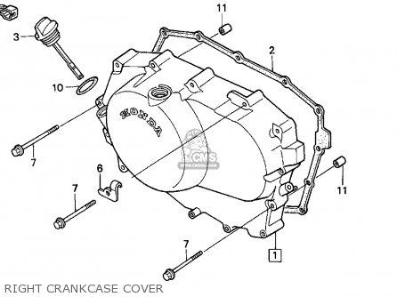 Honda Vt600cd Shadow Vlx Deluxe 1996 Usa parts list