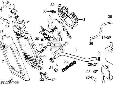 Honda VT700C SHADOW 1984 (E) USA CALIFORNIA parts lists