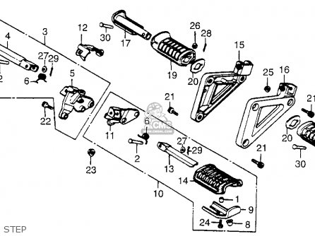 Honda Vt700 Wiring Diagrams, Honda, Get Free Image About