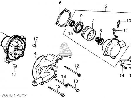 Honda Vt700c Shadow 1984 (e) Usa California parts list