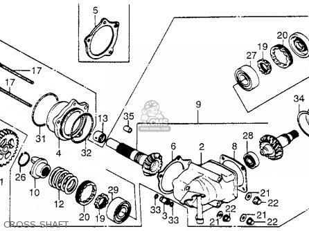 Honda Vt700c Shadow 1984 (e) Usa parts list partsmanual