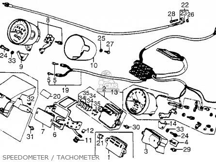 Shadow 1100 1986 Usa Parts List Partsmanual Partsfiche