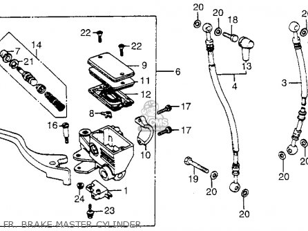 1984 Honda Elite 125 Wiring Diagram