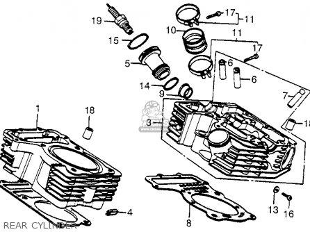 Honda VT700C SHADOW 1985 (F) USA CALIFORNIA parts lists